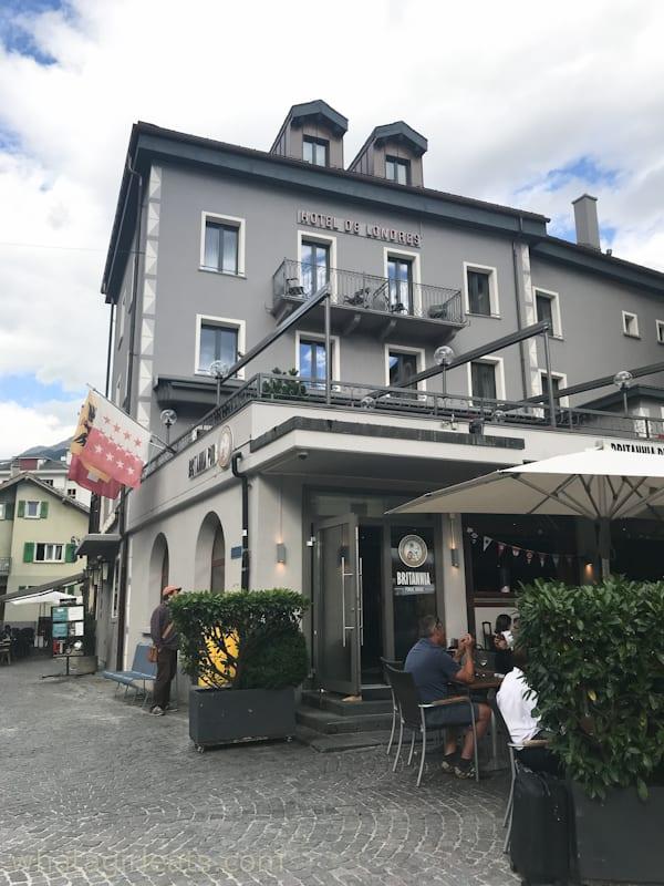 hotel de londres switzterland