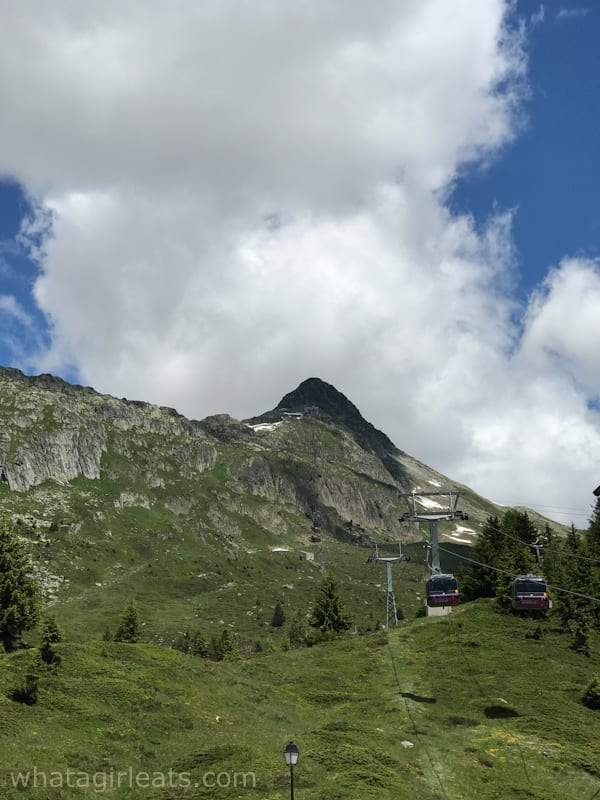 Cable car to Bettmerhorn