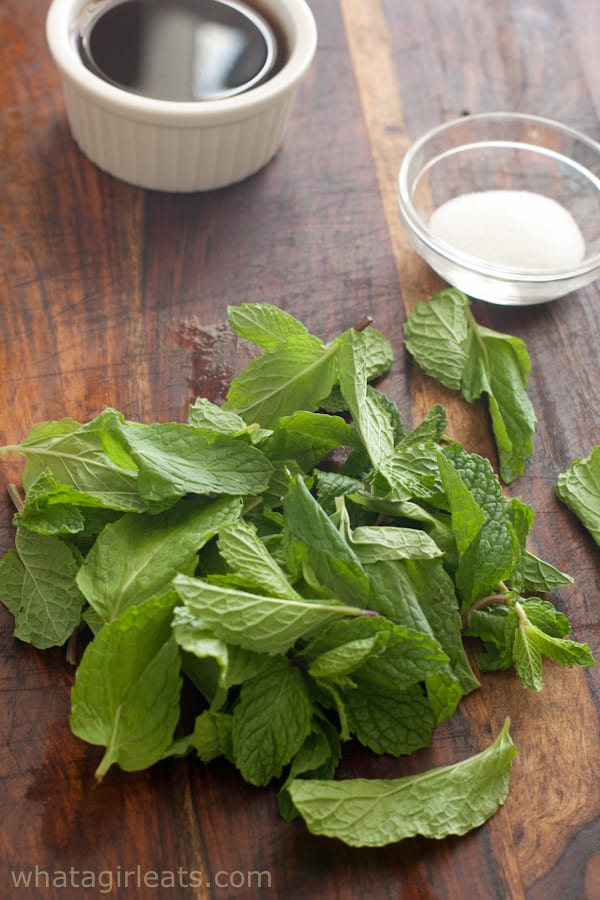 mint, salt and malt vinegar
