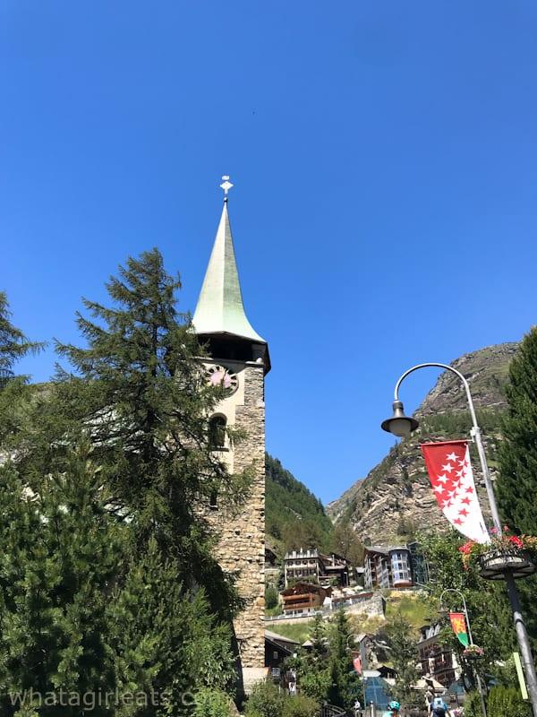 Zermatt village church