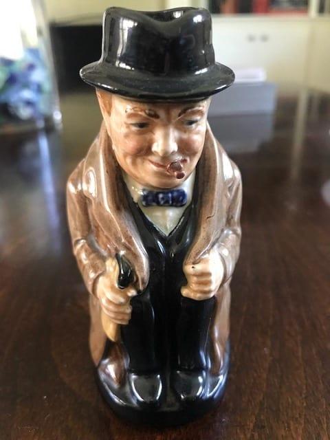Winston Churchill toby jug