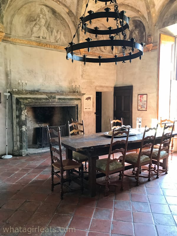 dining room of ACP
