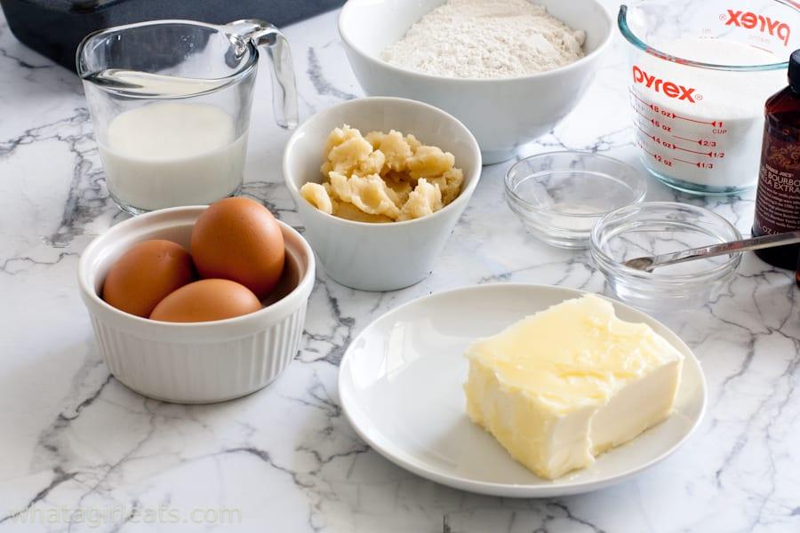 gluten free almond pound cake ingredients