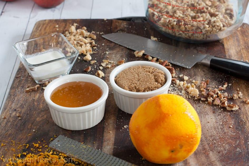 hazelnut tart filling ingredients