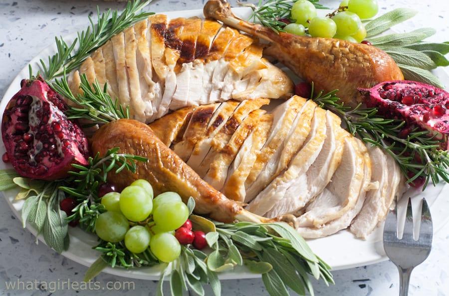 Platted turkey