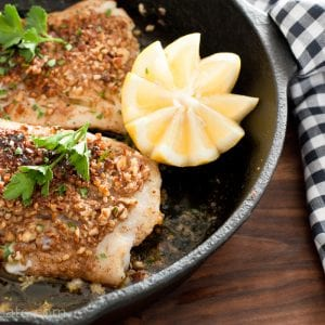 pecan crusted cod