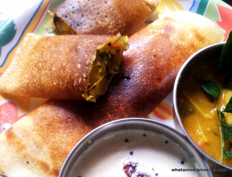 Fish Masala Dosa Recipe
