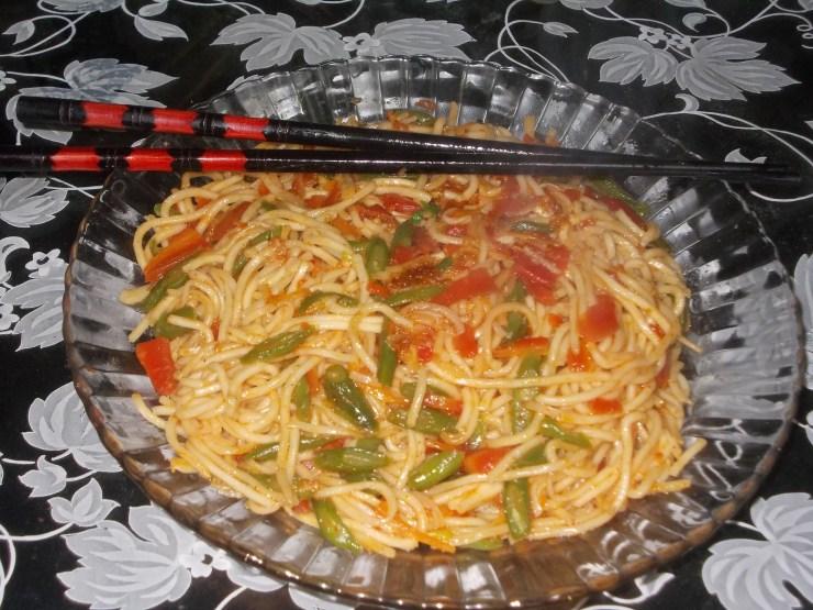 Veg Chowmein Recipe