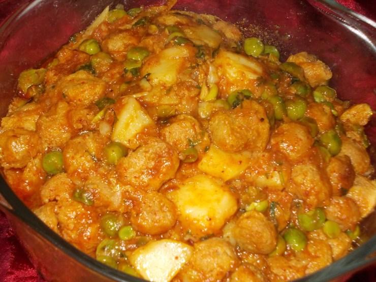 Soya Muttar Pasanda Recipe