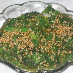 Crackling Spinach Recipe