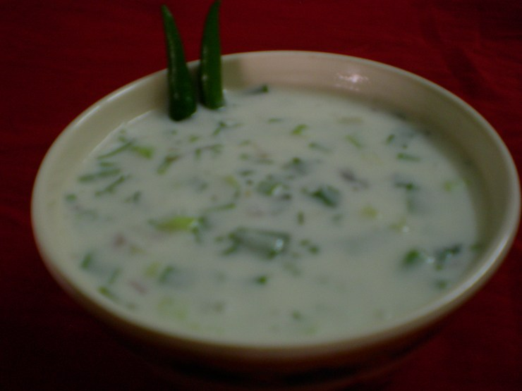 Onion Cucumber Raita Recipe