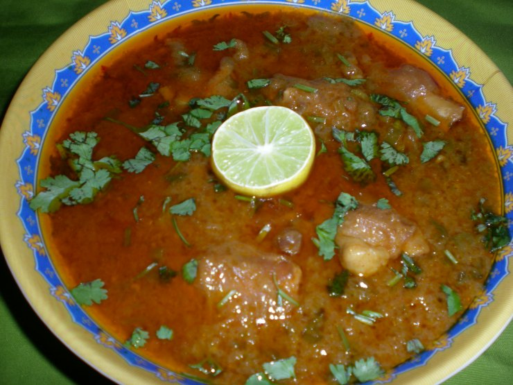 Mutton Paya (Trotters) Recipe