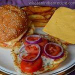 Easy Egg Burger Recipe
