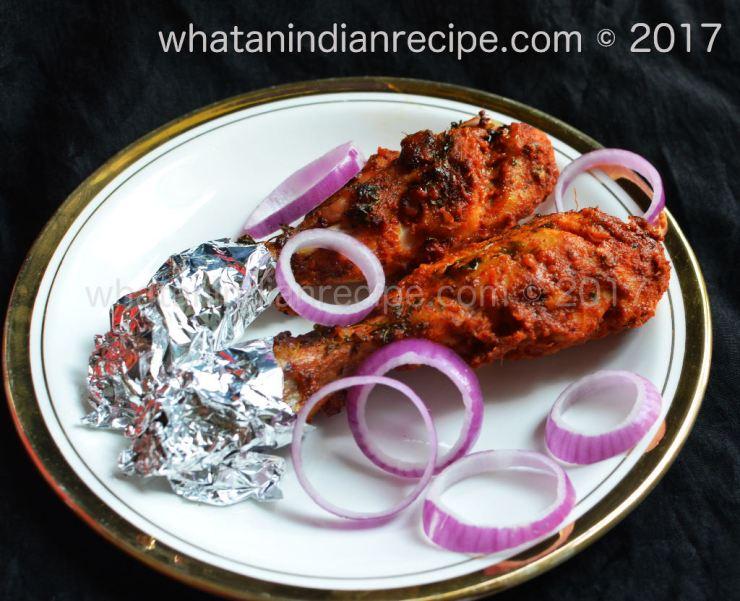 Chicken Tangdi Kebab