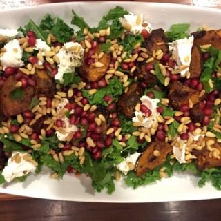 Roasted pumpkin &  Persian feta salad