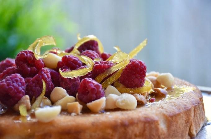 citrus essential oil cake