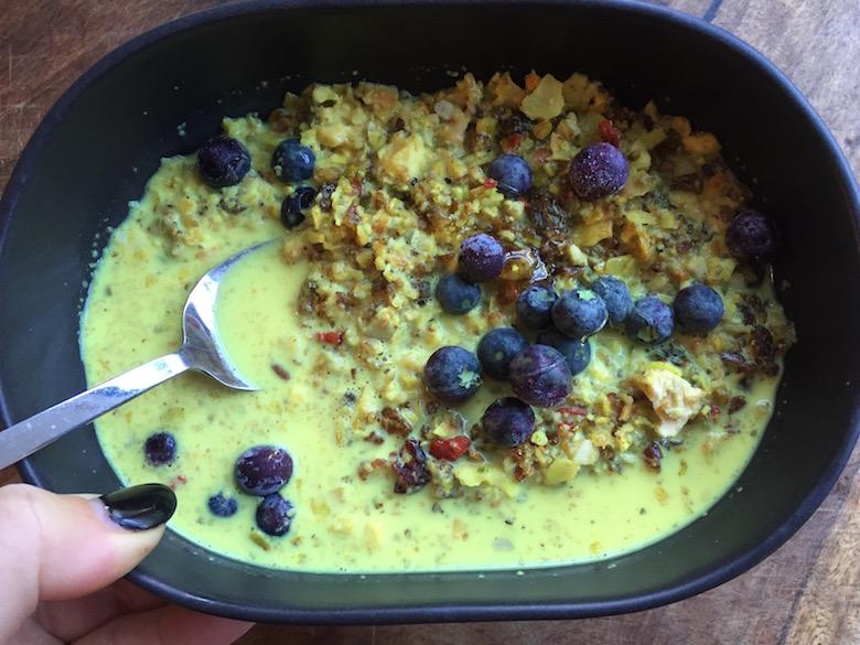tumeric porridge