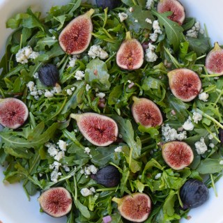 Summer Arugula + Fig Salad