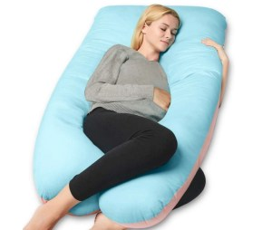Queen Rose 55in Full Body U-shaped Pregnancy Pillow