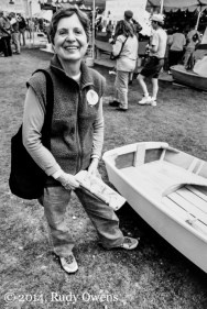 I particularly like this moment. We had a great time at the Seattle Wooden Boat Show (2004).