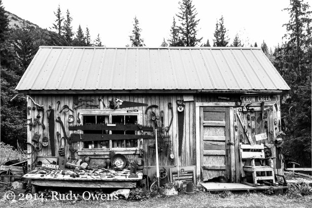 The old placer mine is located just outside of beautiful Girdwood, Ak. (2005).