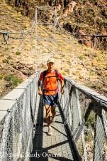 Jeff Crossing the Colorado River
