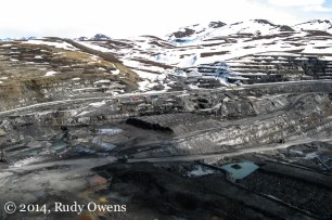 The zinc and lead mine about 50 miles from the Chukchi sea is among the largest of its kind in the world. This picture was taken in 2008.