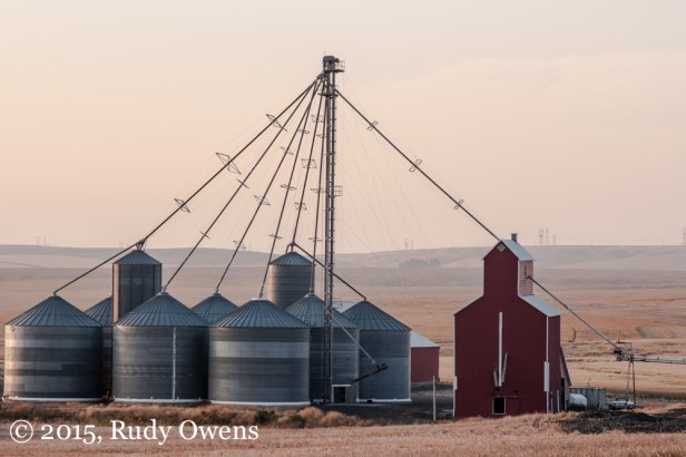 Grain Silo Photographs