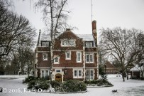 Reed College Old Dorm Block Snow Storm, 2016