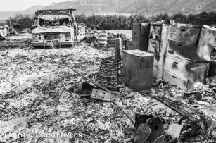 Methow Valley Fire Aftermath