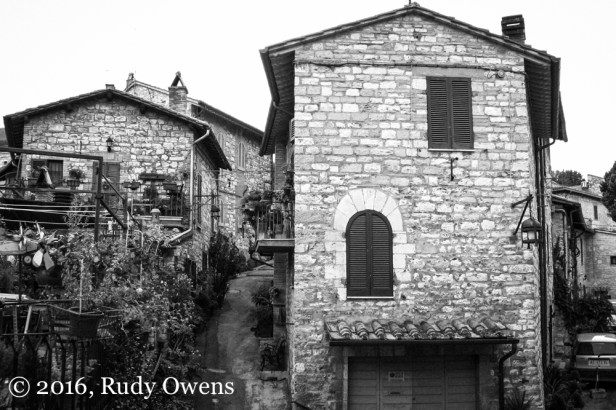 Where I Stayed in Assisi