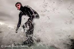 Foam Surfing at Indian Beach