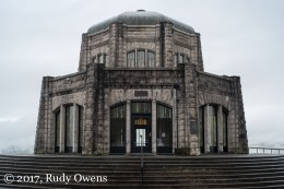 Vista House is listed on the National Historic Register. It is a fabulous place to visit if you travel to the Columbia River Gorge.