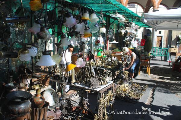 Antique Flea Market - Florence, Italy