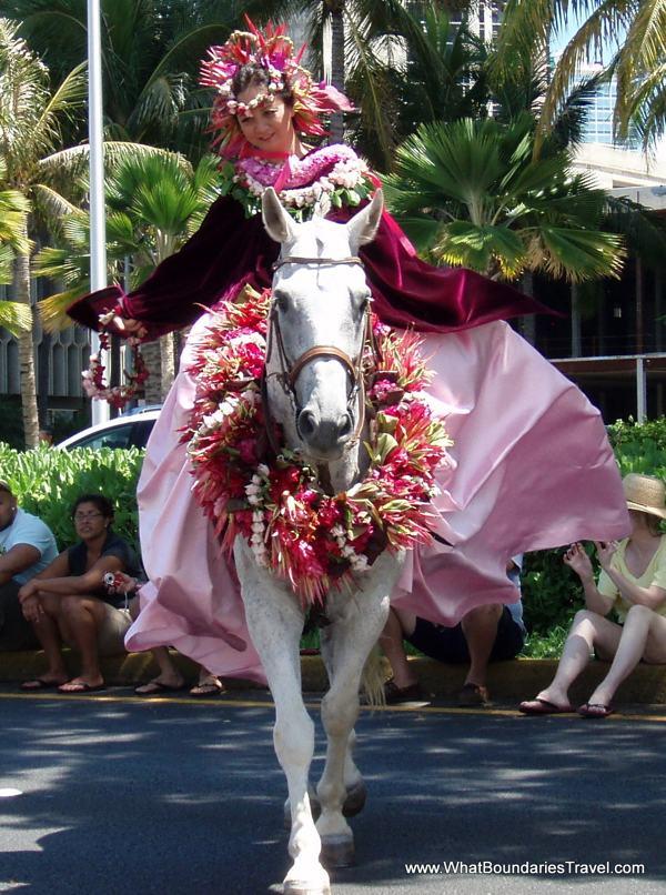 Hawaiian Royalty on Parade