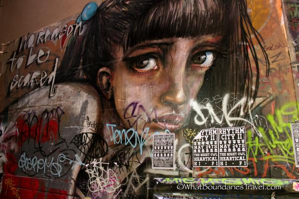 street art melbourne photo essay what boundaries live your dream   in the city of melbourne it s possible to pockets of art around almost any corner for some of the best displays of street art melbourne head to