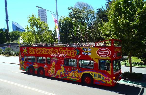 Sydney Hop on - Hop off Bus