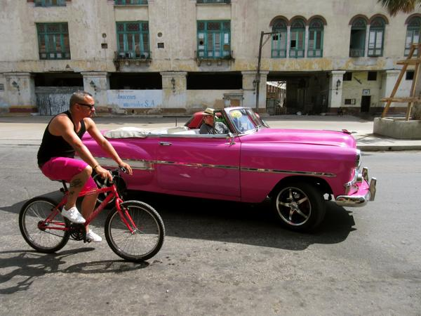 By car, bike or on foot - Havana is an easy city to navigate.