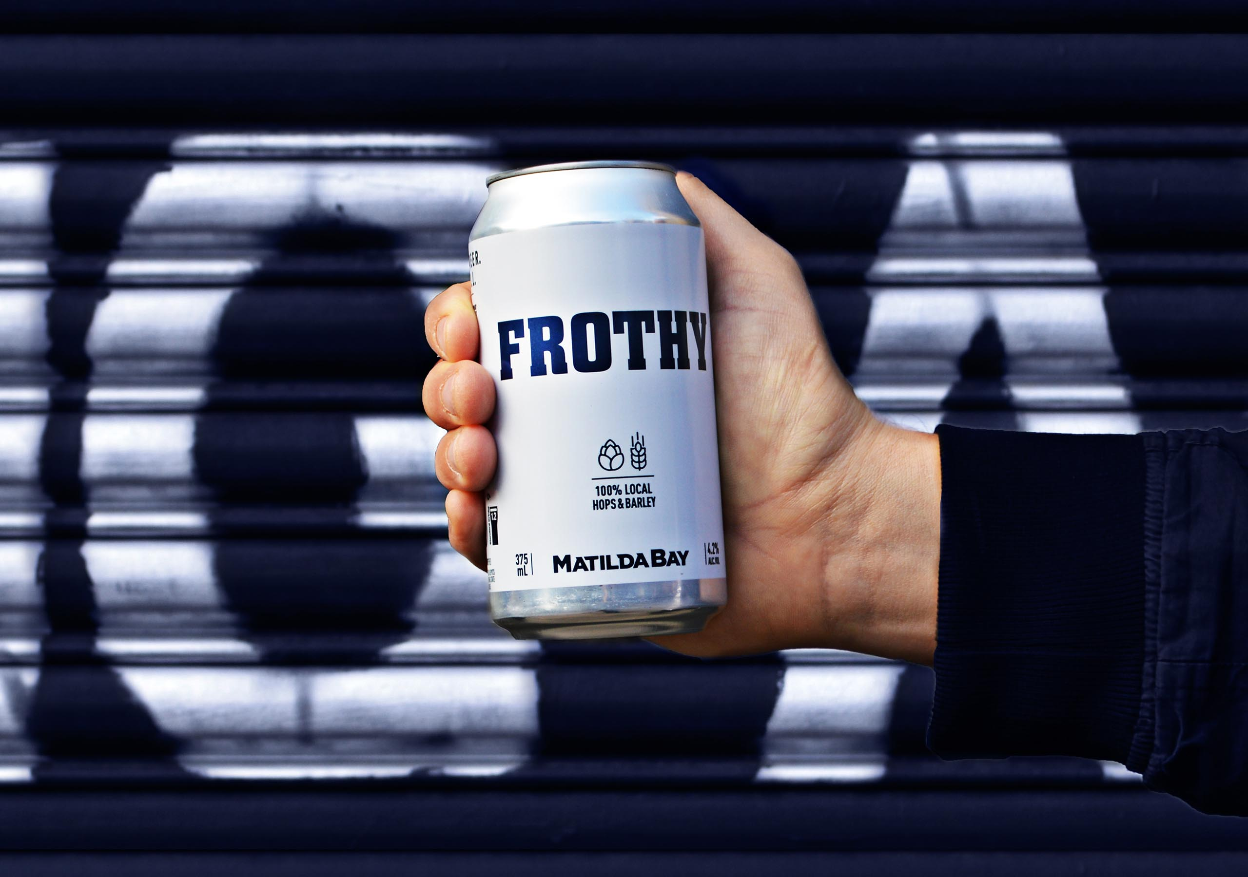 Frothy street blue2