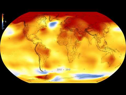 global temperature anomalies from 1880 to 2018 - Global temperature anomalies from 1880 to 2018