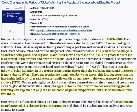 nasa we cant model clouds so climate models are 100 times less accurate than needed for projections 2 - NASA: We Can't Model Clouds, So Climate Models Are 100 Times Less Accurate Than Needed For Projections