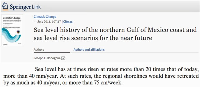 sum of contributor evidence shows global sea levels have recently been rising 2 - Sum-Of-Contributor Evidence Shows Global Sea Levels Have Recently Been Rising