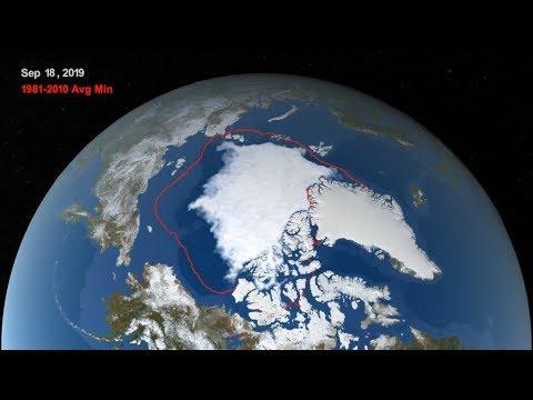 arctic sea ice reaches 2019 minimum extent - Arctic Sea Ice Reaches 2019 Minimum Extent