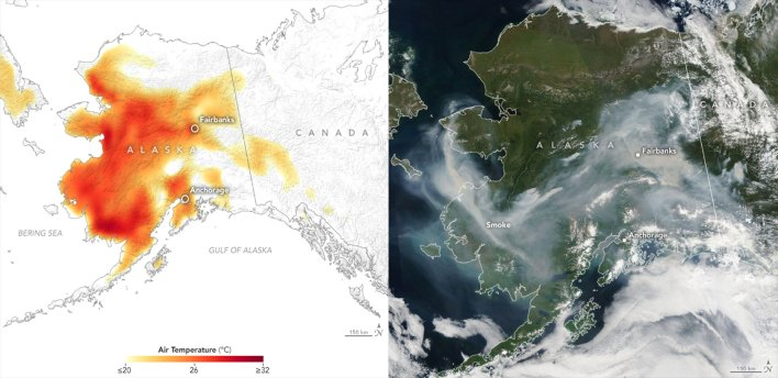 satellite data record shows climate changes impact on fires - Satellite Data Record Shows Climate Change's Impact on Fires