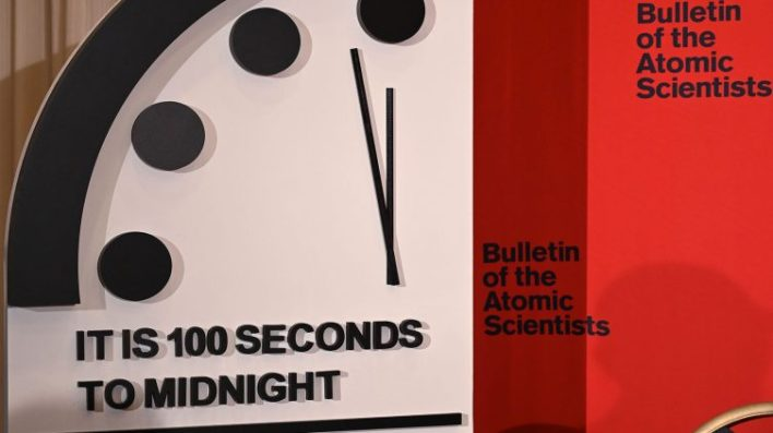 doomsday clock moves closer to midnight due in part to climate change - Doomsday Clock moves closer to midnight, due in part to climate change