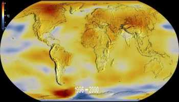 global temperature anomalies from 1880 to 2019 - Global temperature anomalies from 1880 to 2018