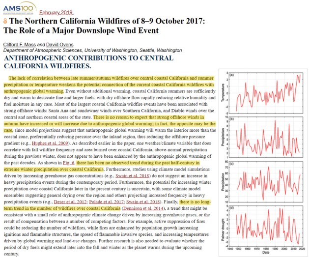 scientists no correlation between climate change and wildfires in california or anywhere else on earth - Scientists: No Correlation Between Climate Change And Wildfires In California – Or Anywhere Else On Earth