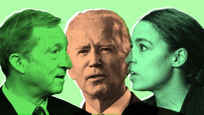 whos advising joe biden on climate his former rivals - Who's advising Joe Biden on climate? His former rivals.