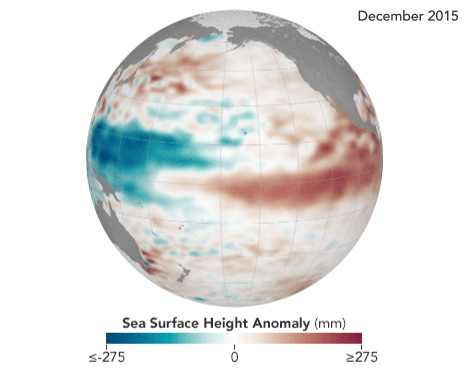 changing pacific conditions raise sea level along u s west coast 1 - Changing Pacific Conditions Raise Sea Level Along U.S. West Coast