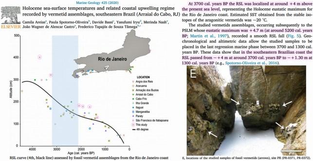 huge database of studies documenting meters higher mid holocene sea levels swells again in 2020 5 - Huge Database Of Studies Documenting Meters-Higher Mid-Holocene Sea Levels Swells Again In 2020